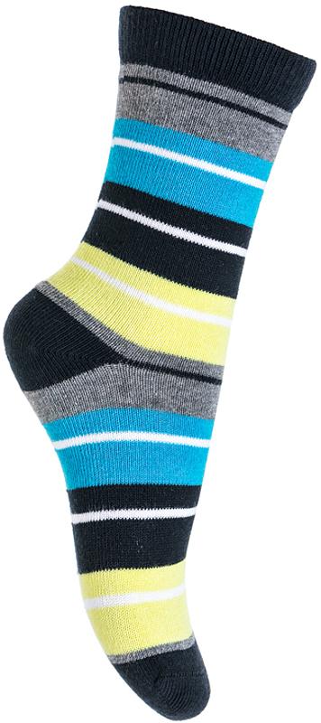 Носки для мальчика PlayToday, цвет: серый, голубой, желтый. 371133. Размер 14371133Носки PlayToday очень мягкие, выполненные, из натуральных материалов, приятные к телу и не сковывают движений. Хорошо пропускают воздух, тем самым позволяя коже дышать. Даже частые стирки, при условии соблюдений рекомендаций по уходу, не изменят ни форму, ни цвет изделия. Мягкая резинка не сдавливает нежную детскую кожу.
