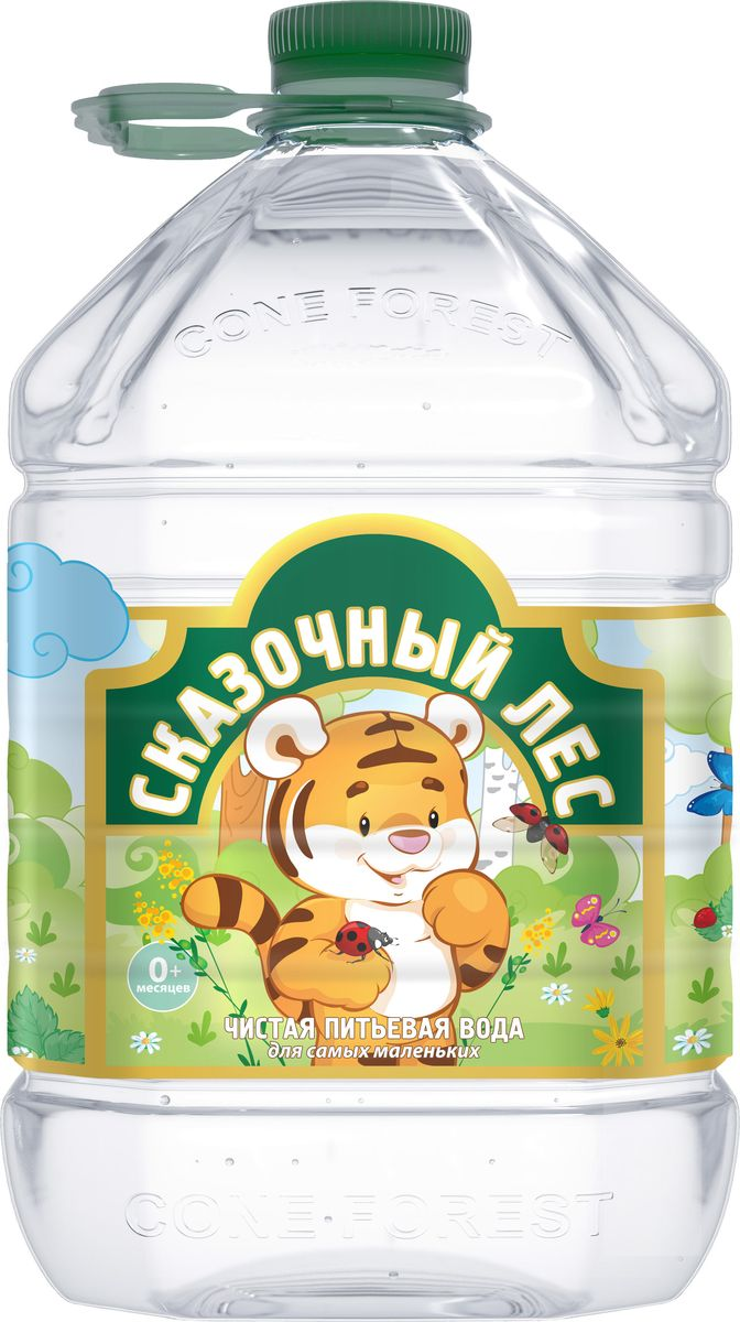 Сказочный лес вода питьевая детская, 5 л impact 185 r