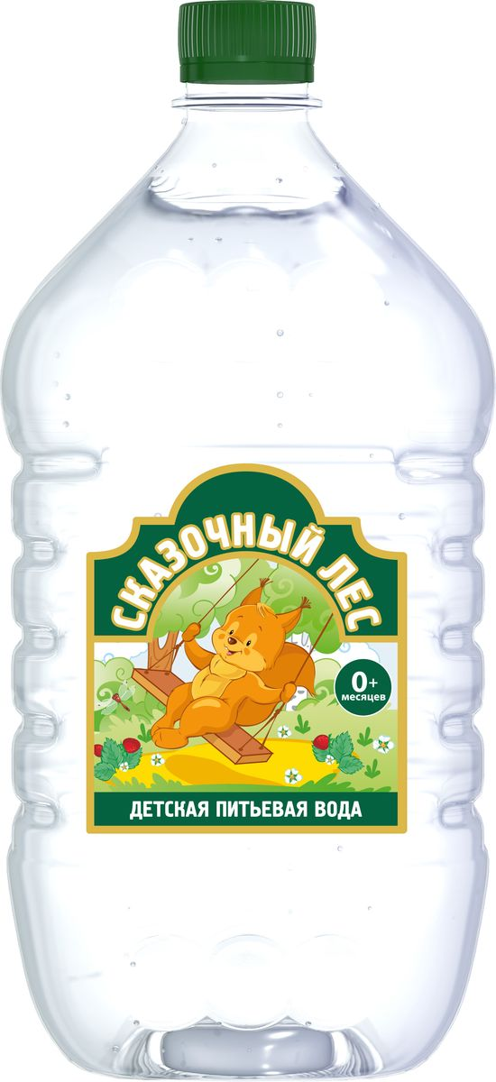 Сказочный лес вода питьевая детская, 1 л4605490000507