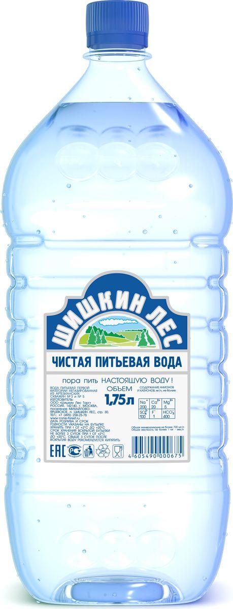Шишкин лес вода питьевая, 1,75 л4605490000675