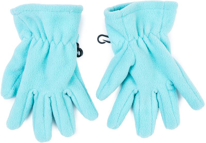 Перчатки для девочки PlayToday, цвет: голубой. 372135. Размер 13372135Перчатки PlayToday из теплого флиса - отличное решение для прогулок в холодную погоды. Запястья модели с резинкой для дополнительного сохранения тепла. Перчатки дополнены специальными крючками, при необходимости их можно скрепить между собой или пристегнуть к куртке.