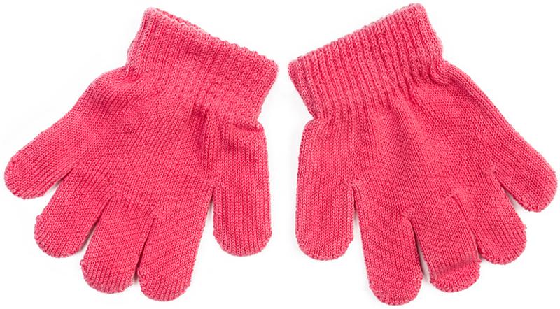 Перчатки для девочки PlayToday, цвет: розовый. 378043. Размер 12378043Вязаные перчатки PlayToday станут идеальным вариантом для прохладной погоды. Они очень мягкие, хорошо тянутся и прекрасно сохраняют тепло. На манжетах - плотная резинка, которая хорошо держит перчатки на руках ребенка.