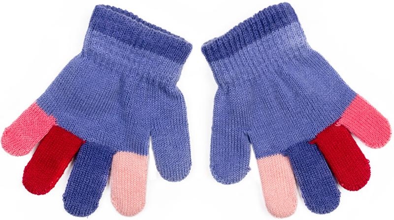 Перчатки для девочки PlayToday, цвет: сиреневый. 378042. Размер 11378042Перчатки-варежки PlayToday выполнены по технологии Yarn Dyed - в процессе производства используются разного цвета нити. При рекомендуемом уходе модель не линяет и надолго остается в первоначальном виде. Манжеты на плотной трикотажной резинке. Перчатки дополнены специальным карманом, за счет которого формируются варежки.