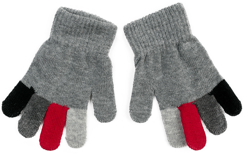 Перчатки для мальчика PlayToday, цвет: серый. 371032. Размер 14371032Вязаные перчатки PlayToday станут идеальным вариантом для прохладной погоды. Они очень мягкие, хорошо тянутся и прекрасно сохраняют тепло. На манжетах - плотная резинка, которая хорошо держит перчатки на руках ребенка. Модель выполнена в технике Yarn Dyed - в процессе производства используются разного цвета нити. Изделие, при рекомендуемом уходе, не линяет и надолго остается в прежнем виде.