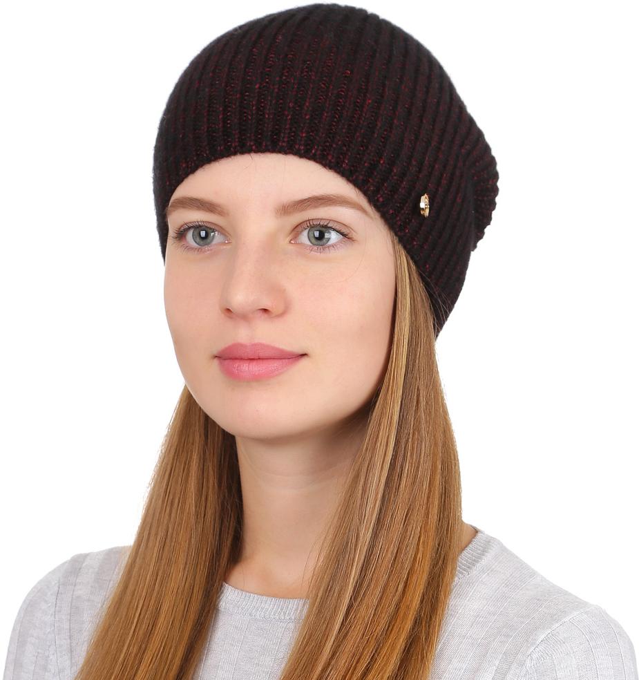Шапка женская Fabretti, цвет: бордовый. F2017-9-26. Размер универсальныйF2017-9-26Универсальная женская шапка от Fabretti выполнена из шерсти с добавлением полиамида. Простой аккуратный дизайн поможет вам дополнить любой современный образ, а также создать неповторимый модный и элегантный стиль. Такой аксессуар можно сочетать с любым нарядом.
