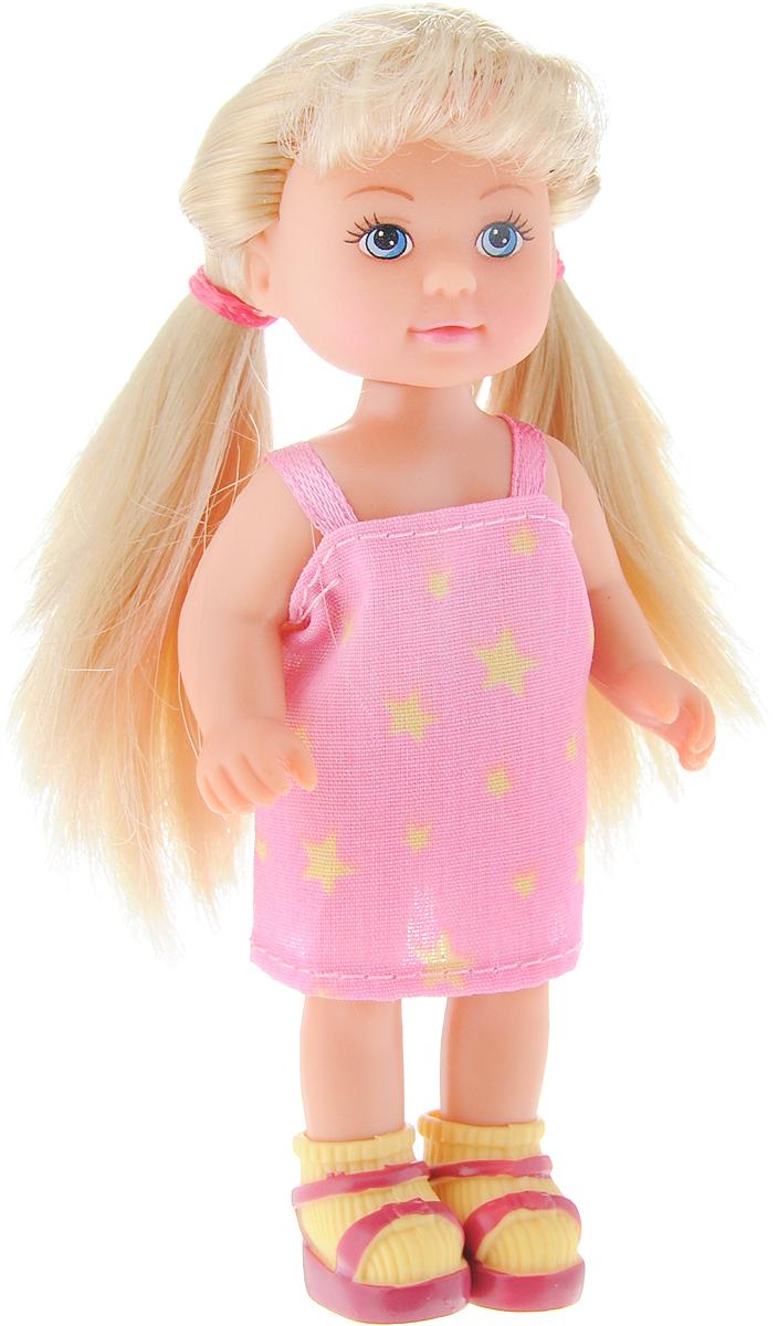 Simba Мини-кукла Еви в летней одежде цвет розовый simba игровой набор с мини куклой evi love fairy carriage