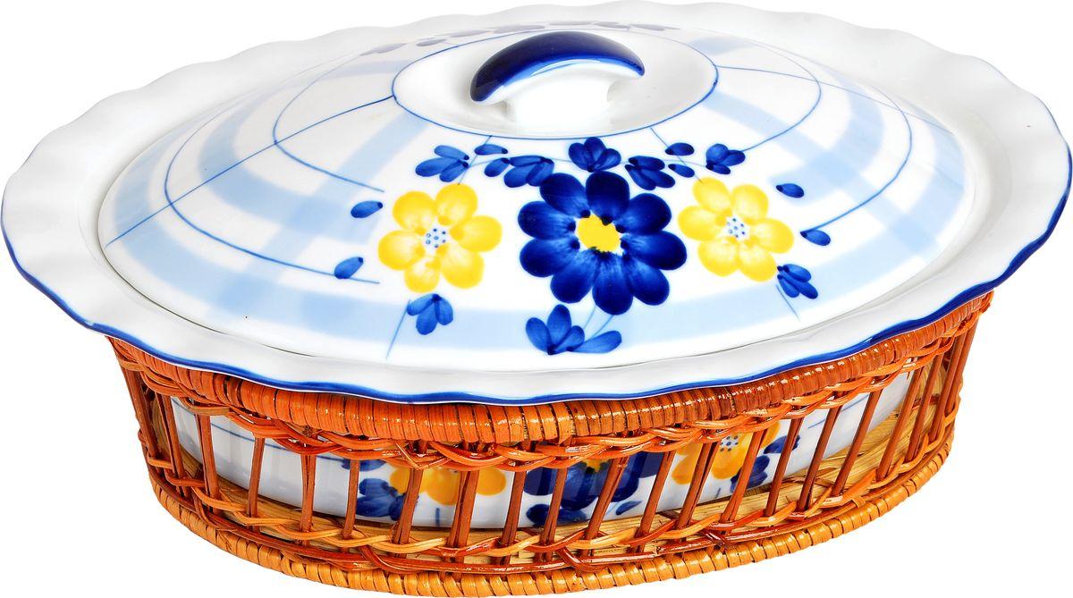 Форма для запекания Bayerhoff, в корзине, 2,5 лBH-182Форма для запекания Bayerhoff, выполненная из жаропрочной глазурованной керамики, оснащена крышкой, ручками и корзиной.Изделие можно использовать в духовке. Во время процесса приготовления посуда из керамики впитывает лишнюю влагу из продукта и хранит тепло. Как выбрать форму для выпечки – статья на OZON Гид.