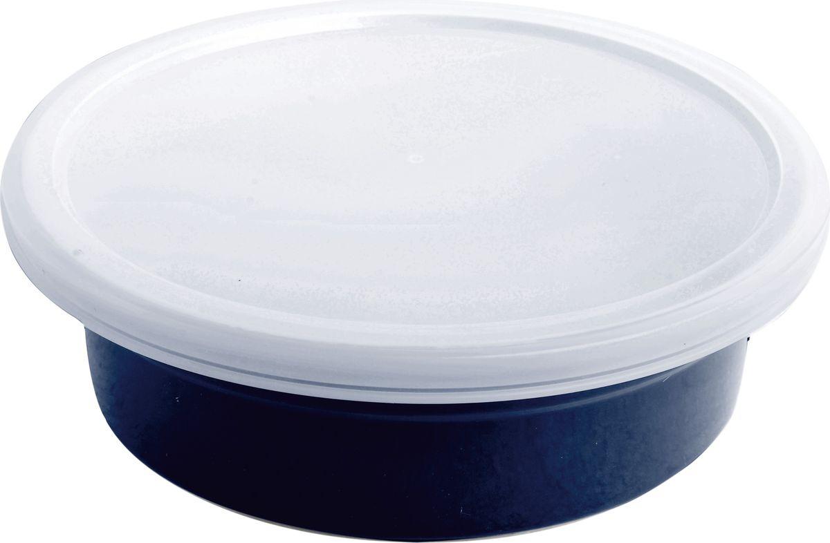 Противень керамический Frank Moller, круглый, с крышкой, цвет: темно-синий, 20,3 х 6 смFM-665Противень керамический Frank Moller выполнен из высококачественной жаропрочной керамики. Благодаря обжигу при высоких температурах изделие имеет прочную непористую структуру и идеально гладкую поверхность. Материал гигиеничен, не впитывает запахи, легко моется, нейтрален к пищевым кислотам и солям. Обеспечивает щадящий режим приготовления, благодаря способности медленно накапливать тепло и медленно его отдавать.Противень дополнен удобной крышкой.Противень подходит для использования в духовке, гриле, микроволновых печах, для хранения в холодильнике и замораживания.Можно мыть в посудомоечной машине. Выдерживает нагрев до 220°С.Размер: 20,3 x 6 см.