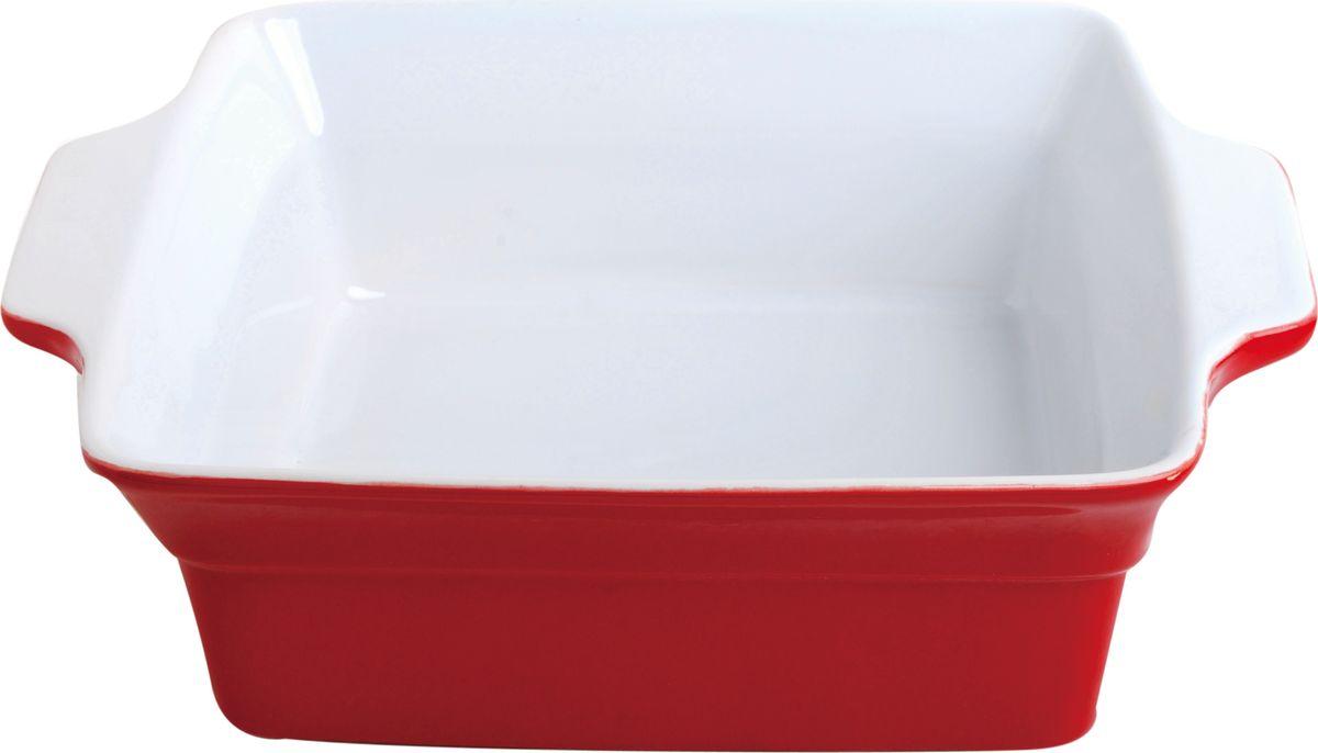 Противень керамический Frank Moller, прямоугольный, красный, 24,5 х 20,3 х 7,3 см300117Противень керамический Frank Moller выполнен из высококачественной жаропрочной керамики.Благодаря обжигу при высоких температурах изделие имеет прочную непористую структуру иидеально гладкую поверхность. Материал гигиеничен, не впитывает запахи, легко моется,нейтрален к пищевым кислотам и солям. Обеспечивает щадящий режим приготовления,благодаря способности медленно накапливать тепло и медленно его отдавать. Противень подходит для использования в духовке, гриле, микроволновых печах, для хранения вхолодильнике и замораживания.Можно мыть в посудомоечной машине.Выдерживает нагрев до 220°С. Размер: 24,5 х 20,3 х 7,3 см.
