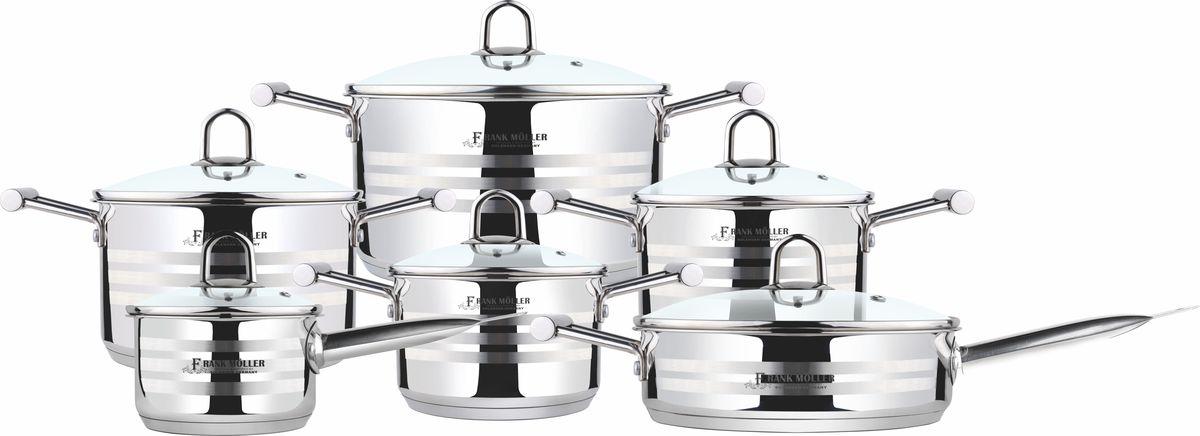 Набор посуды Frank Moller, 12 предметов. FM-811