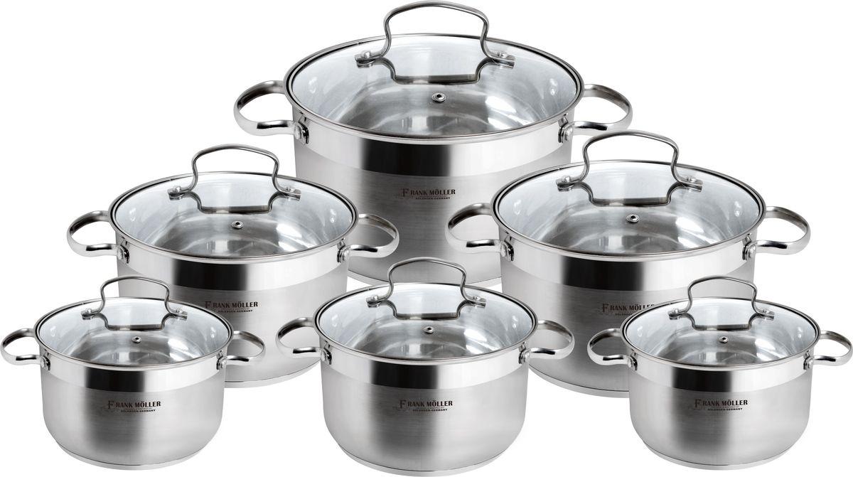 Набор посуды Frank Moller, 12 предметов. FM-827FM-827