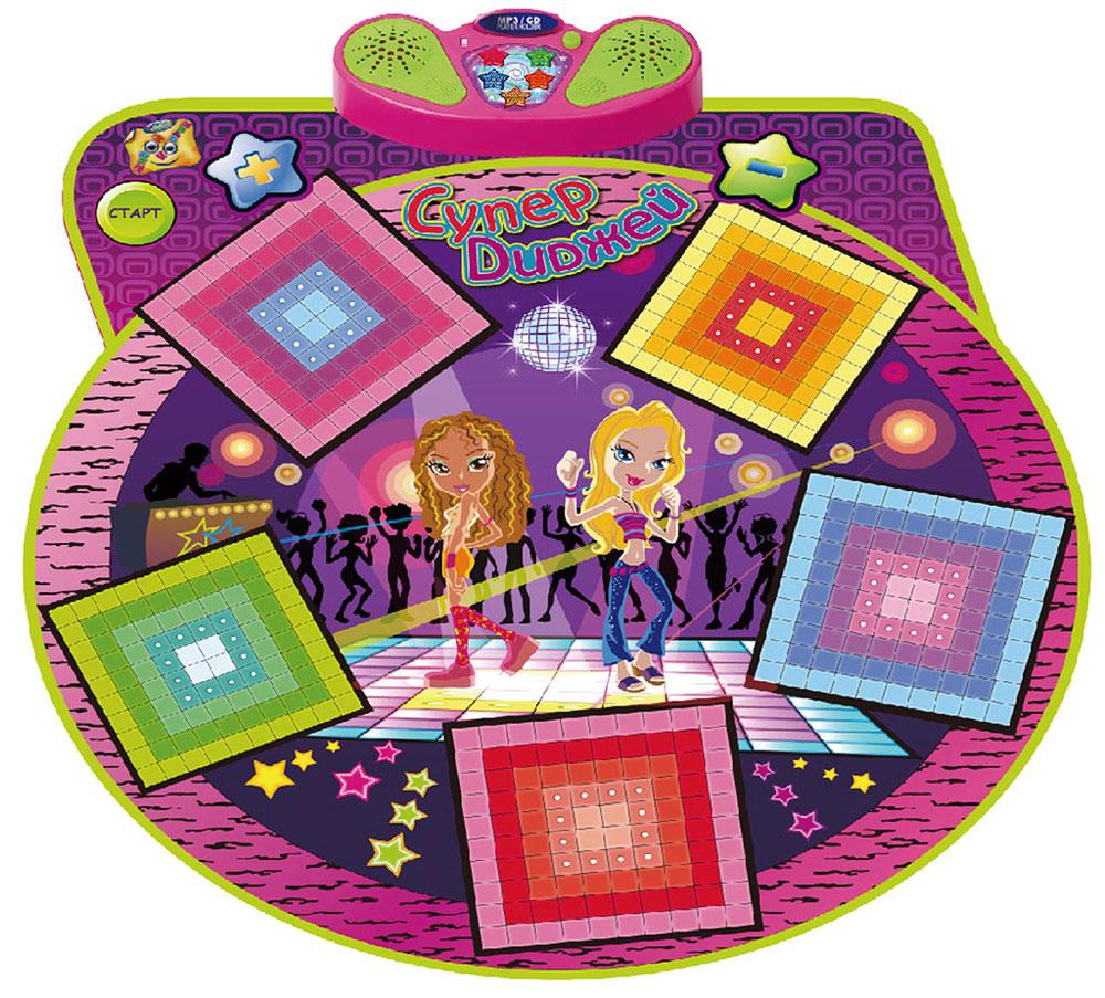 Знаток Игровой музыкальный коврик Супер диджей