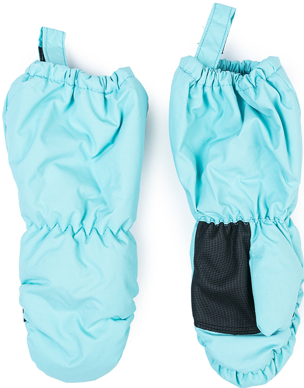 Варежки для девочки PlayToday, цвет: голубой. 372134. Размер 14372134Теплые PlayToday варежки из непромокаемого материала защитят руки ребенка при холодной погоде. Модель на подкладке из теплого флиса. Удлиненные запястья дополнены резинками для дополнительного сохранения тепла.