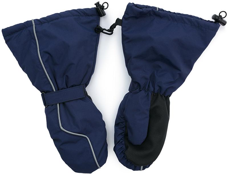 Варежки для мальчика PlayToday, цвет: темно-синий. 371179. Размер 13371179Теплые PlayToday варежки из непромокаемого материала защитят руки ребенка при холодной погоде. Модель на подкладке из теплого флиса. Удлиненные запястья дополнены резинками для дополнительного сохранения тепла.