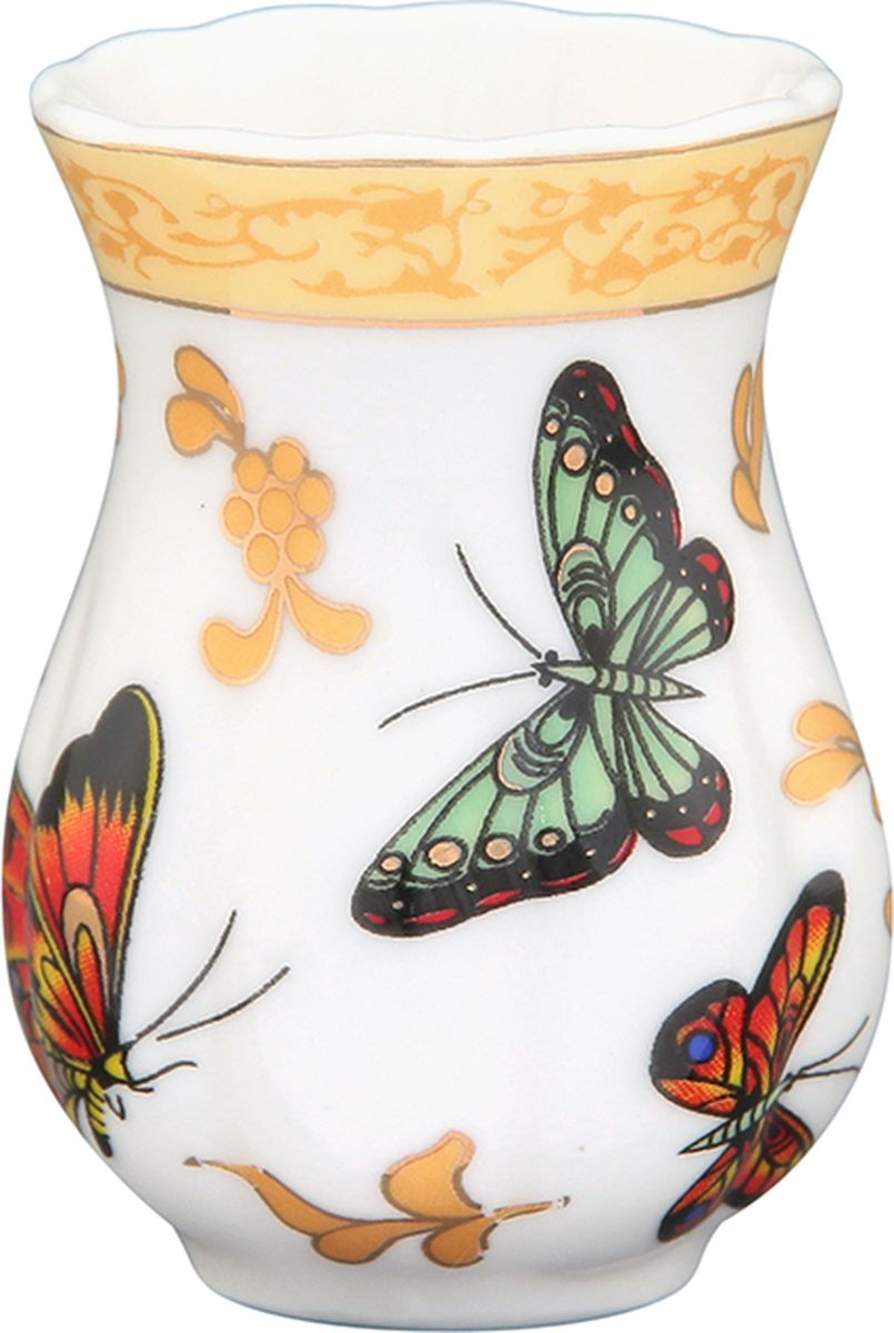 Подставка для зубочисток Elan Gallery Бабочки , 25 мл. 740238740238Фарфоровая вазочка для зубочисток из коллекции Бабочки дополнит сервировку вашего праздничного стола. Идеальна при выборе недорого подарка вашим близким. Изделие в подарочной упаковке.Объем: 25 мл.
