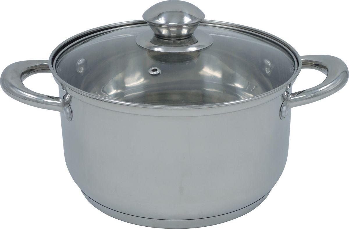 Кастрюля Bohmann, 4,7 л. 0805-22BH0805-22BHКастрюля из нержавеющей стали со стеклянной крышкой. Капсульное дно. Объем 4,7л. Подходит для индукционных плит.Упаковка :полиэтилен