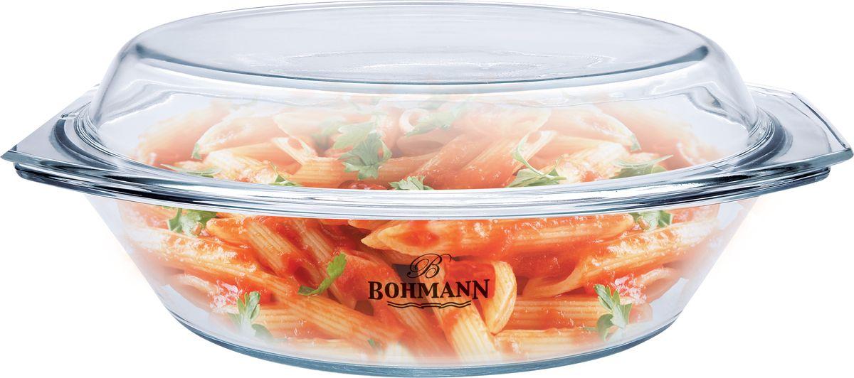 Блюдо Bohmann, с крышкой, 3 л. 2019BHG2019BHGСтеклянное овальное блюдо с крышкой. Объем 3 литра. Размер 35,5 х 21,4 х 15,4 см. Изготовлено из жаростойкого стекла. Высокая термостойкость. Экологичное, грязезащитное и стойкое к механическим повреждениям стекло, не впитывает запахи.
