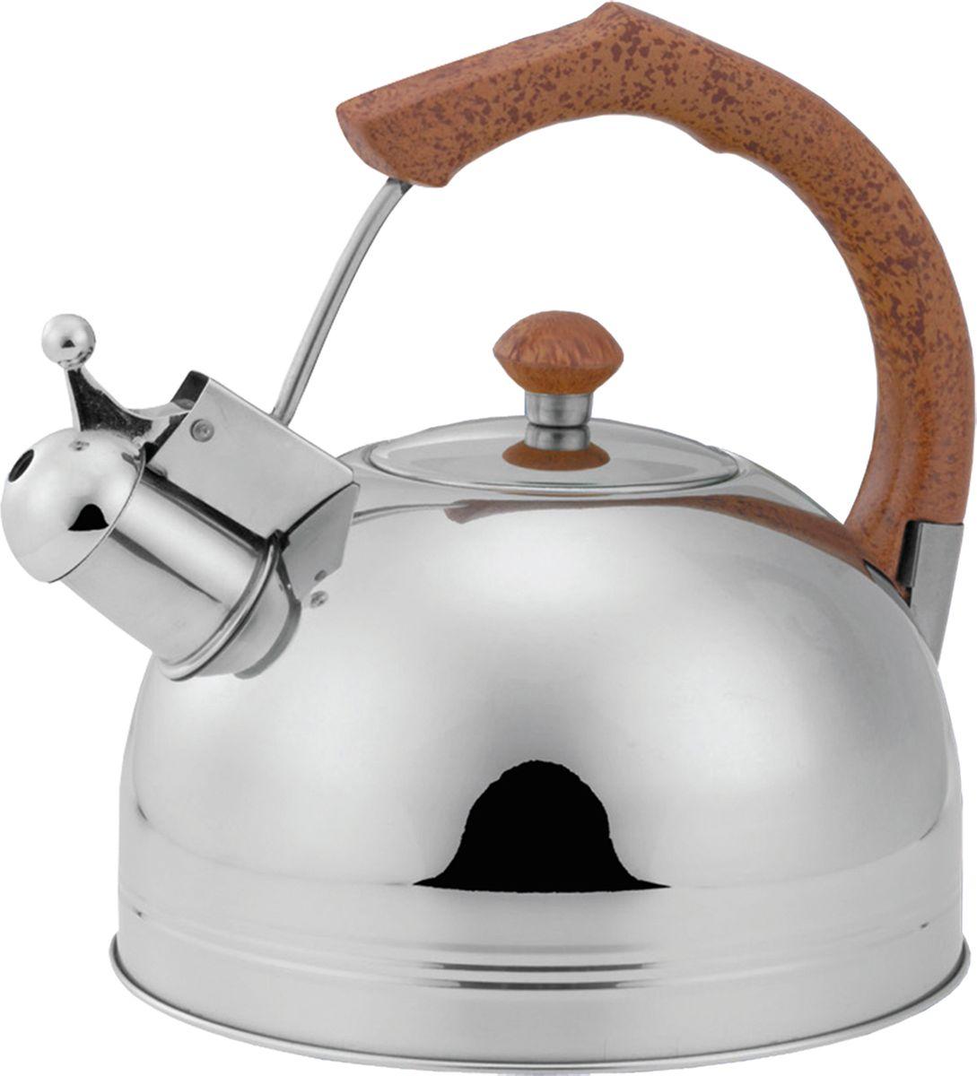 Чайник Bohmann, со свистком, 4 л. 9980-4BHGDO9980-4BHGDOЧайник металлический. Объем 4,0л. Корпус - нержавеющая сталь. Бакелитовая ручка. Подходит для всех видов плит.