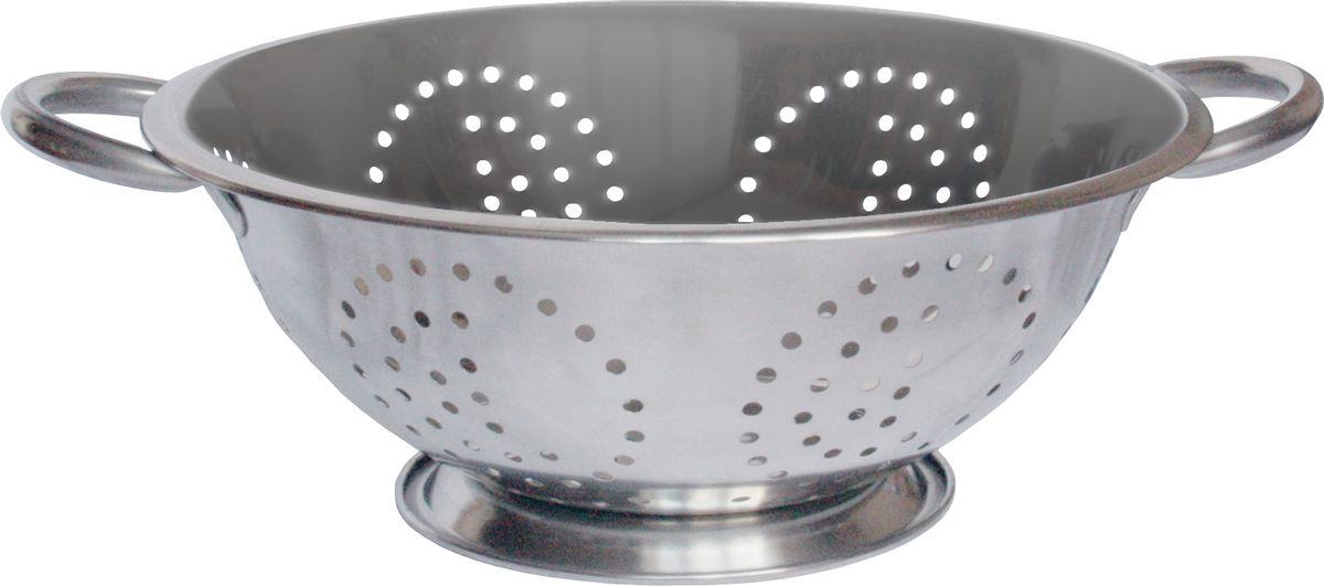 Дуршлаг Rainstahl, диаметр 24 см. 4000-24RS/CO4000-24RS/COДуршлаг Rainstahl изготовлен из высококачественной нержавеющей стали и снабжен двумя ручками, а также круглой подставкой, что делает удобным его использование. Такой дуршлаг идеален для процеживания ягод, спагетти, салата, овощей и других продуктов. Дуршлаг Rainstahl станет незаменимым аксессуаром на вашей кухне и придется по душе любой хозяйке.