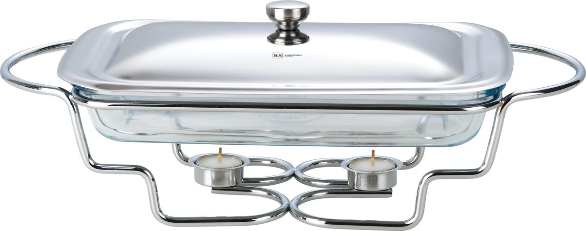 Мармит Rainstahl, с крышкой, 2,2 л. 6011RS/FM6011RS/FMСтеклянный мармит для подогрева блюд. Объем 2,2 л. Прямоугольная емкость с крышкой из нержавеющей стали и металлической подставкой.
