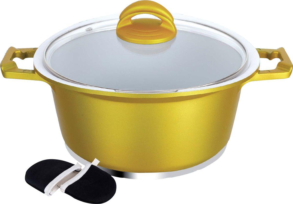 Кастрюля  Barton Steel , 2,2 л. 6916-24BS/NEW - Посуда для приготовления