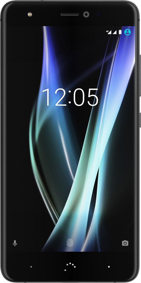 BQ Aquaris X, BlackC000257Смартфон Aquaris X — это продолжение легендарного Aquaris X5 Plus, который стал настоящим стандартом соотношения цена/качество в своем сегменте рынка. Сенсор Sony IMX298 с разрешением 16Мп специально разработан так, чтобы захватить больше света, работает по технологии фазового автофокуса PDAF и имеет 6 линз Largan с диафрагмой f/2.0. Dual Tone Flash воспроизводит разные параметры вспышки при разных режимах съемки так, чтобы достичь наилучших результатов в каждой фотографии.Собственное приложение камеры теперь усовершенствовано технологиями: обработкой изображения Multi-Image Processing, технологией мгновенного спуска ZSL (Zero Shutter Lag), стабилизация видео Vidhance, а также ставшие уже привычными съемка в формате RAW и запись видео 4K@30fps.Акустическая система включает в себя усилитель звука Smart NXP. Благодаря этому в наушниках яркий, чистый, нагруженный деталями звук качества Hi-Fi, с уровнем искажений при максимальной громкости - менее 0,006%. Кроме того, встроенный кодек Bluetooth APTх позволяет передать высокое качество звука во множество периферийных устройств. Смартфоны Aquaris серии X прославились чистым Android 7.1.1. без оболочек. Аккумулятор емкостью 3100 мАч с функцией быстрой зарядки Quick Charge 3.0, в сочетании с мощным и энергоэффективным процессором Qualcomm Snapdragon 626, позволяет не думать о заряде аккумулятора до 2 суток. Потрясающая яркость экрана до 650 нит, позволяет комфортно использовать смартфон даже при очень ярком солнце. Встроенный NFC чип позволяет оплачивать покупки с помощью смартфона. Как всегда, используются только премиальные материалы корпуса: 2,5D стекло с защитой Dinorex, рама из цельного металла, задняя крышка из качественного поликарбоната с покрытием Beсkers. Интересен тот факт, что испанская компания с большой внимательностью относится к поддержке пользователей своих смартфонов. Помимо классических каналов связи: телефон/обращение через сайт – доступна круглосуточная линия поддержки через Tel