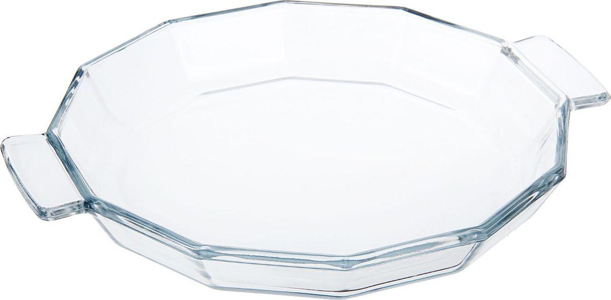Блюдо Доляна, жаропрочное, граненое, 0,4 л1406040Форма для запекания — необходимый атрибут в каждом доме, где любят вкусно готовить. Изделие выполнено из жаропрочного стекла, прошедшего несколько стадий закаливания. Оно подойдёт для приготовления блюд из мяса, рыбы и овощей.Преимущества изделияВозможность использования в СВЧ-печах и хранения в холодильнике.Быстрая мойка (в том числе в посудомоечной машине).Долгий срок службы.Изготовлено из экологичного материала.Форма может быть использована для подачи готовых блюд. Рекомендуется избегать резких перепадов температуры.