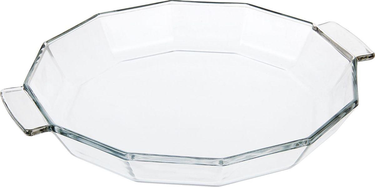 Блюдо Доляна, жаропрочное, граненое, 0,9 л1923473Изделие выполнено из жаропрочного стекла, прошедшего несколько стадий закаливания. Оно подойдёт для приготовления блюд из мяса, рыбы и овощей. Преимущества изделия: -Возможность использования в СВЧ-печах и хранения в холодильнике; -Быстрая мойка (в том числе в посудомоечной машине); -Долгий срок службы. Изготовлено из экологически чистого материала. Форма может быть использована для подачи готовых блюд. Рекомендуется избегать резких перепадов температуры.