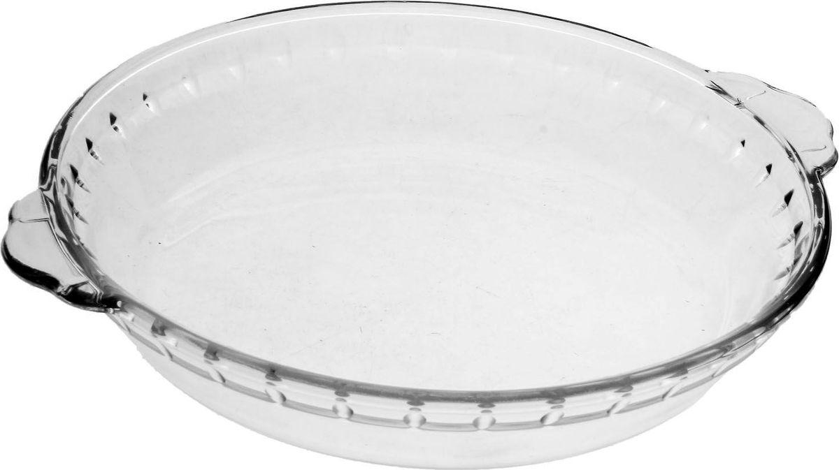 Блюдо Доляна, жаропрочное, с ручкам0и, 0,5 л, 20 х 3 см746486Форма для запекания — необходимый атрибут в каждом доме, где любят вкусно готовить. Изделие выполнено из жаропрочного стекла, прошедшего несколько стадий закаливания. Оно подойдёт для приготовления блюд из мяса, рыбы и овощей.Преимущества изделияВозможность использования в СВЧ-печах и хранения в холодильнике.Быстрая мойка (в том числе в посудомоечной машине).Долгий срок службы.Изготовлено из экологичного материала.Форма может быть использована для подачи готовых блюд. Рекомендуется избегать резких перепадов температуры.