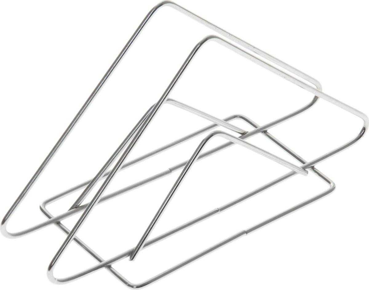 Салфетница Доляна Треугольник, 14 х 6 х 8 см890914Салфетница – это обязательный предмет сервировки. Подобранная со вкусом и изяществом салфетница – это еще и декоративный элемент, отвечающий за эстетическую наполненность каждой трапезы.