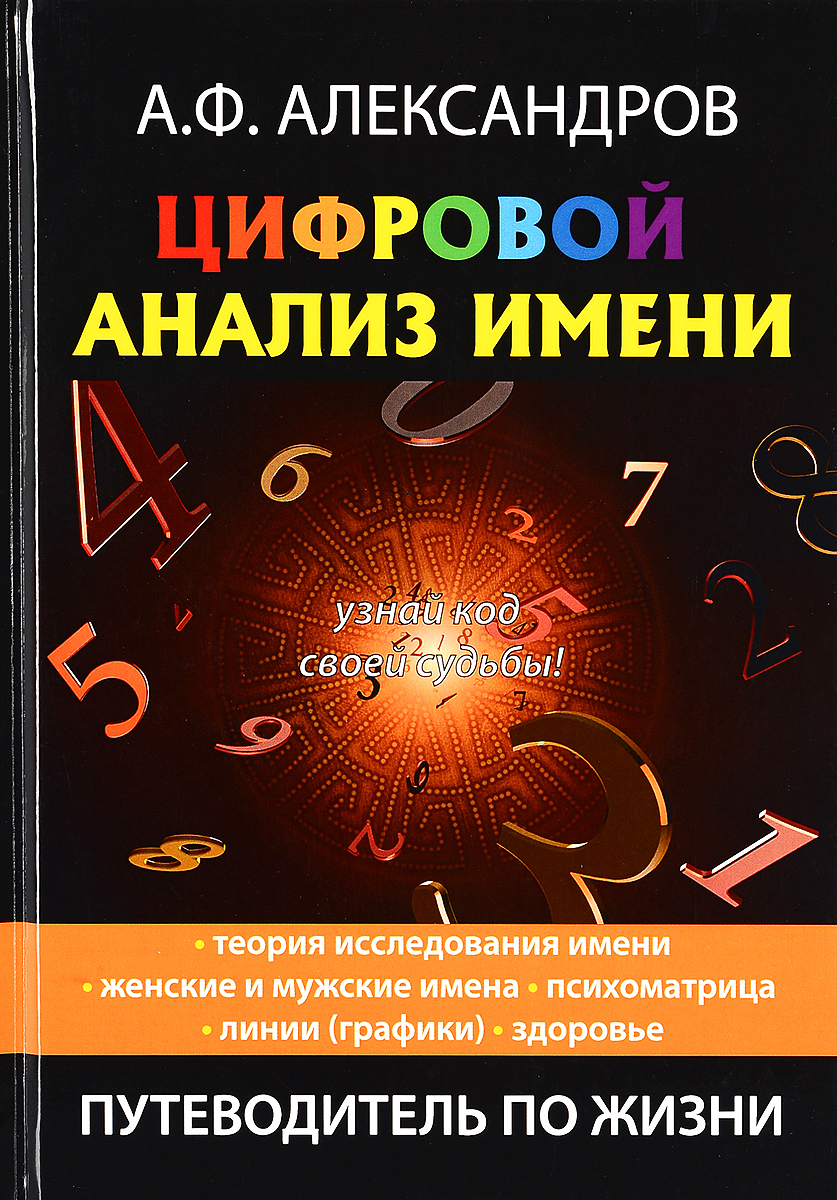 Цифровой анализ имени. А. Ф. Александров