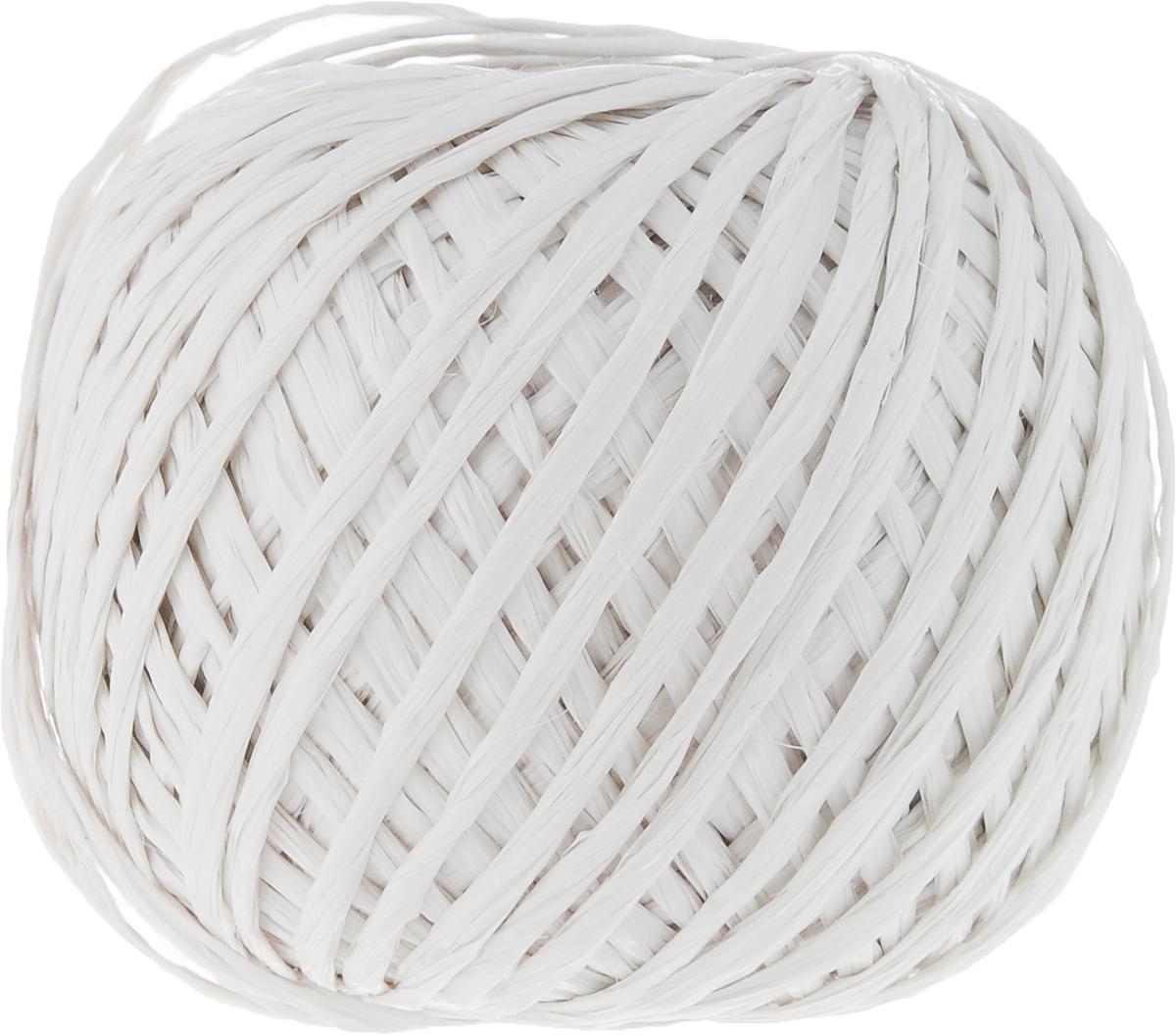"""Полипропиленовый шпагат """"Шнурком"""" плотностью 1000 текс входит в категорию веревочной продукции, сырьем для которой являются синтетические волокна, в частности полипропиленовая нить. Данный материал характеризуется высокой прочностью и стойкостью к износу. Кроме того, он эластичен, гибок, не боится многократных изгибов, плотно облегает изделие при обвязке и легко завязывается в крепкие узлы.  Относительная удельная плотность полипропиленовых шпагатов варьируется от 0,70 до 0,91 кг/м3.  Температура плавления от 150 до 170°C (в зависимости от вида и модели шпагата).  Удлинение под предельной нагрузкой (18-20%). Длина шпагата: 100 м.  Толщина нити: 2 мм.  Линейная плотность шпагата: 1000 текс."""