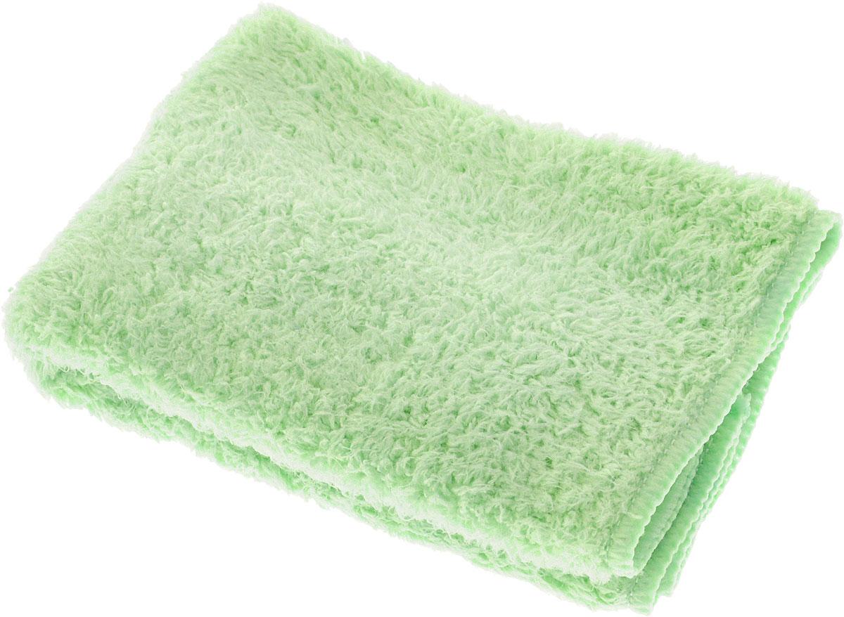 Салфетка для кухни Techpoint, супервпитывающая, цвет: зеленый, 35 х 35 см. 80568056_зеленыйСалфетка Techpoint выполнена из высококачественной микрофибры. Она обладает повышенной впитывающей способностью, что делает ее идеальным средством для быстрого и качественного удаления пролитой жидкости, для ухода за посудой и влажными поверхностями. Разработана для повышенной эффективности использования без дополнительных моющих средств. Подходит для сухой и влажной уборки помещения. Гипоаллергенный материал. Стирается при температуре не выше 60 градусов, без использования кондиционера или смягчителя воды.