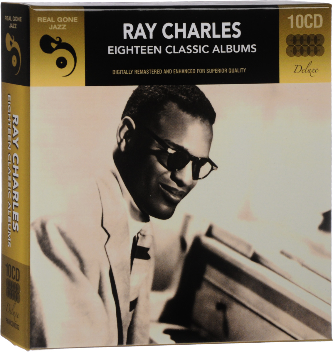 Рэй Чарльз,Милт Джексон,Бэтти Картер Ray Charles. Eighteen Classic Albums. Deluxe Edition (10 CD) рэй чарльз ray charles original album series 5 cd