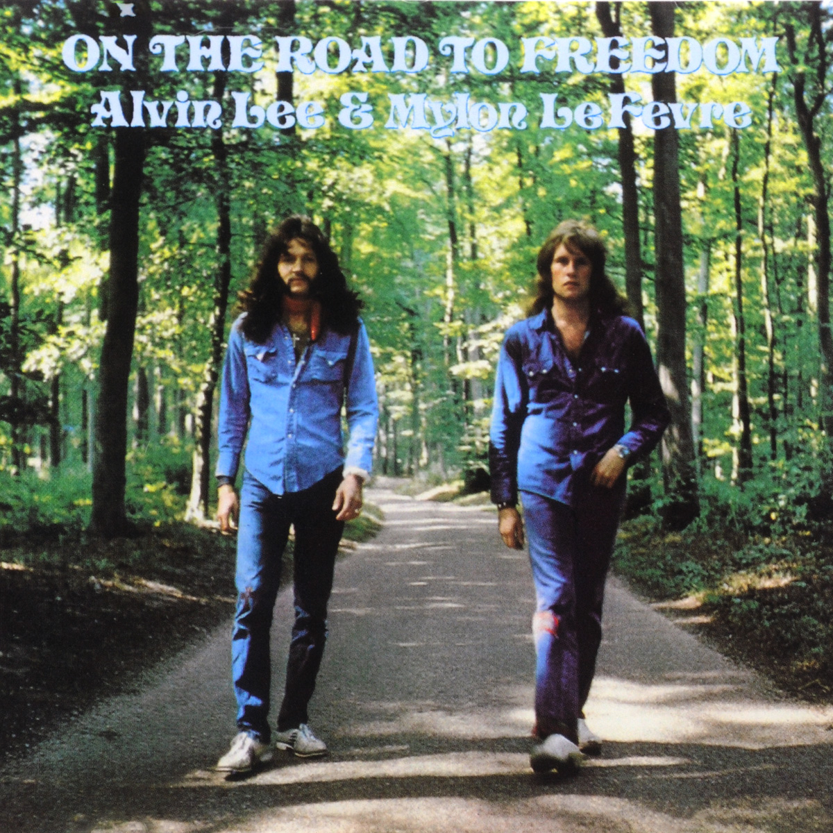Alvin Lee & Mylon LeFevre. On The Road To Freedom