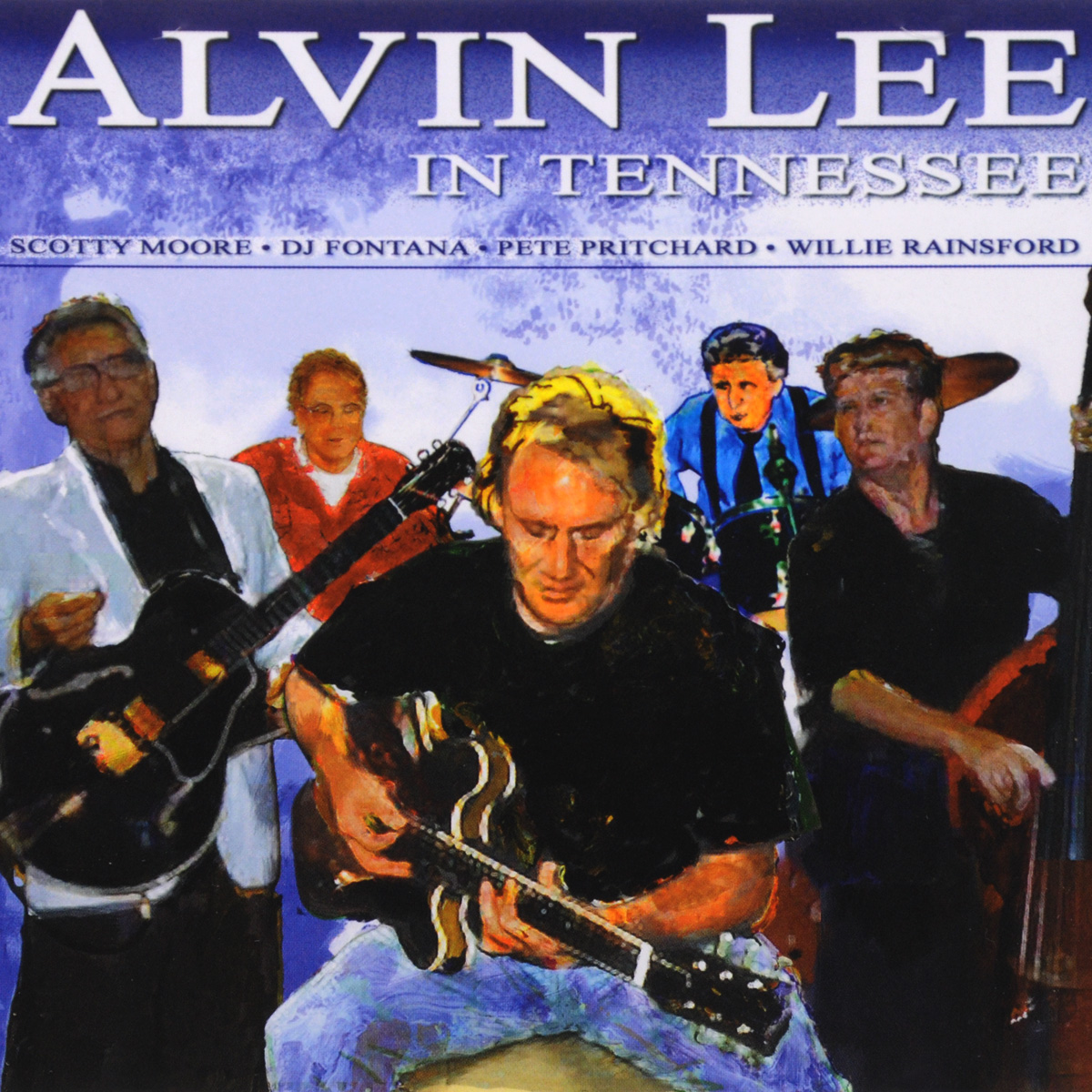 Alvin Lee. Alvin Lee In Tennessee