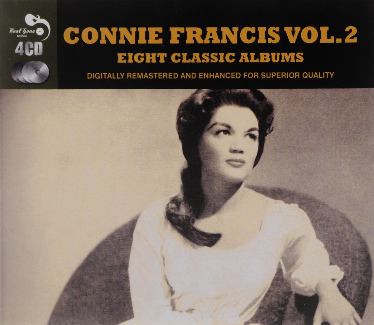 Конни Фрэнсис Connie Francis. 8 Classic Albums Volume 2 (4 CD) roxy music roxy music the studio albums limited edition 8 lp