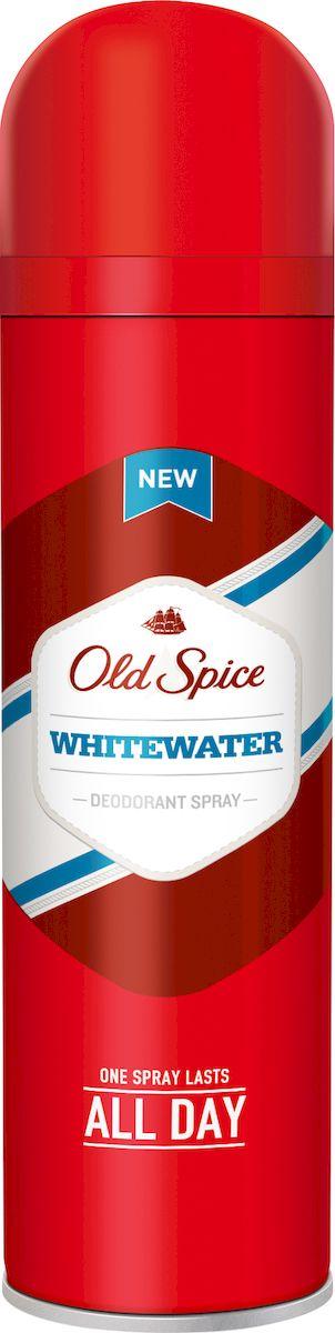 OLD SPICE Аэрозольный дезодорант WhiteWater 125 млOS-81504574Один пшик - весь день мужикМногие считают, что вода - самый мощный элемент на земле. Считают-то, конечно, многие, но все они неправы, так как вода, во-первых, не элемент, а во-вторых, Уран – 235 куда как мощнее. Тем не менее, если верить ученым, Old Spice Whitewater обладает самым свежим запахом, и в этом они абсолютно правы. Ну, по крайней мере те, кто следит за собой. Дезодорант Old Spice поможет тебе избавиться от неприятного запаха. Попробуй Old Spice уже сегодня и докажи, что его аромат — тот самый секретный компонент эликсира мужественности.