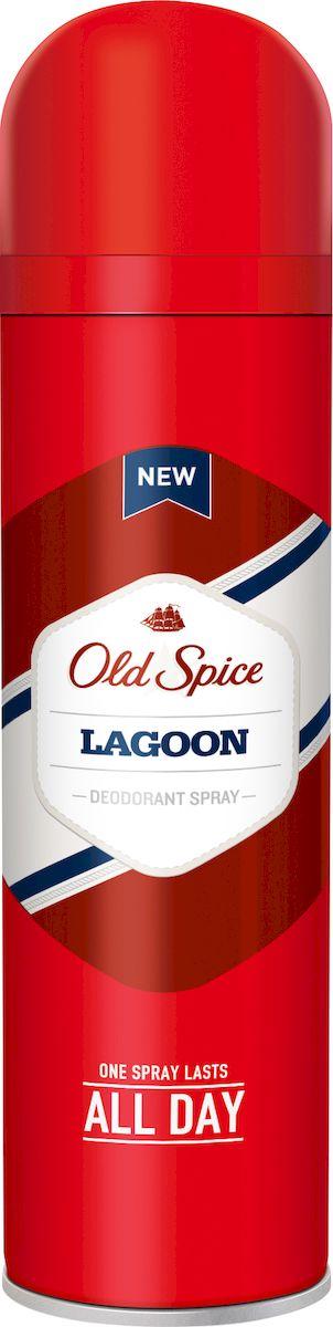 Old Spice Lagoon Аэрозольный дезодорант 125 мл визитницы domenico morelli визитница с хлястиком с карманами бонд коричневый