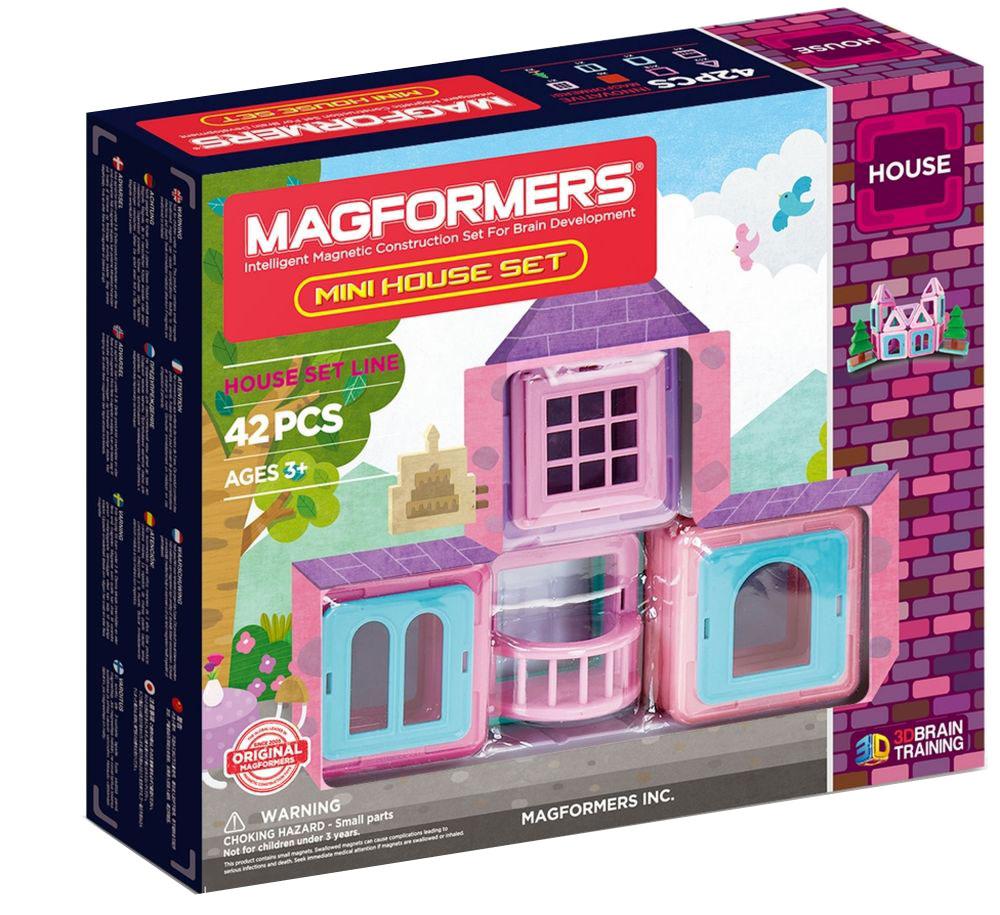 Magformers Магнитный конструктор Mini House Set magformers my first magformers 30