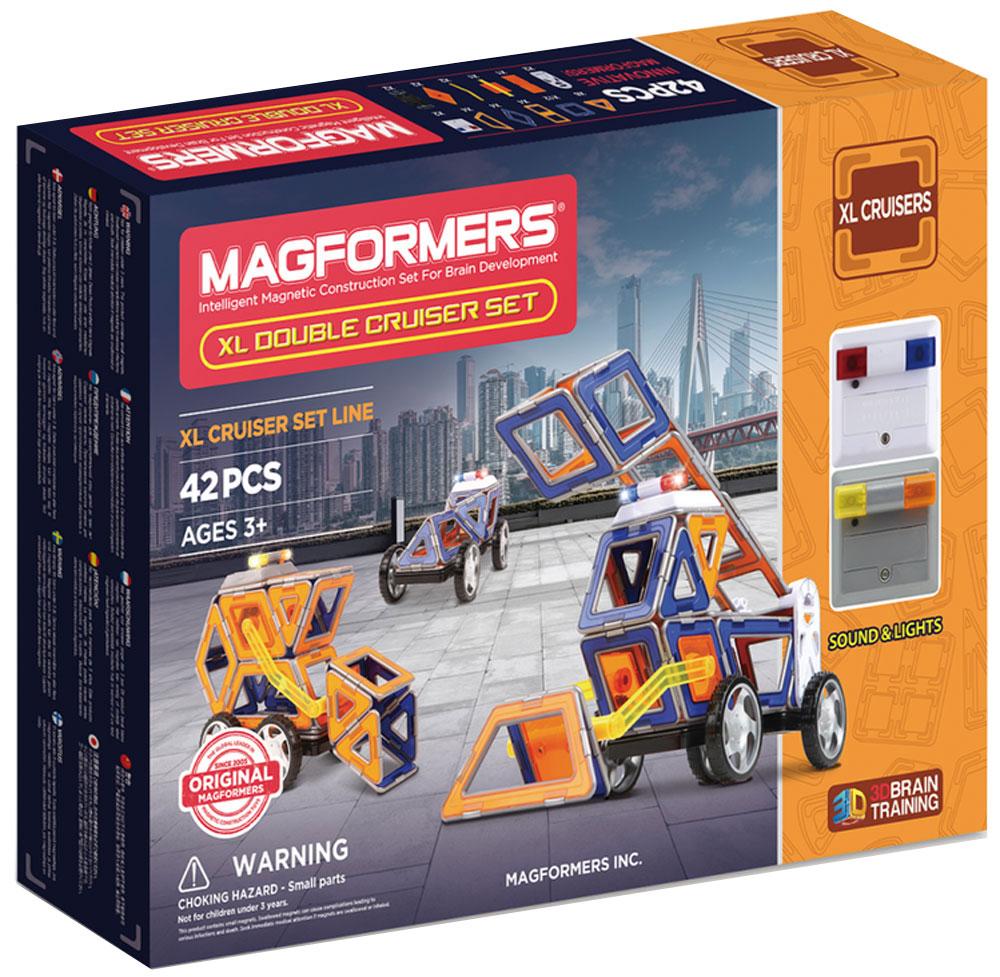 Magformers Магнитный конструктор XL Double Cruiser Set конструкторы magformers магнитный xl double cruiser set 42