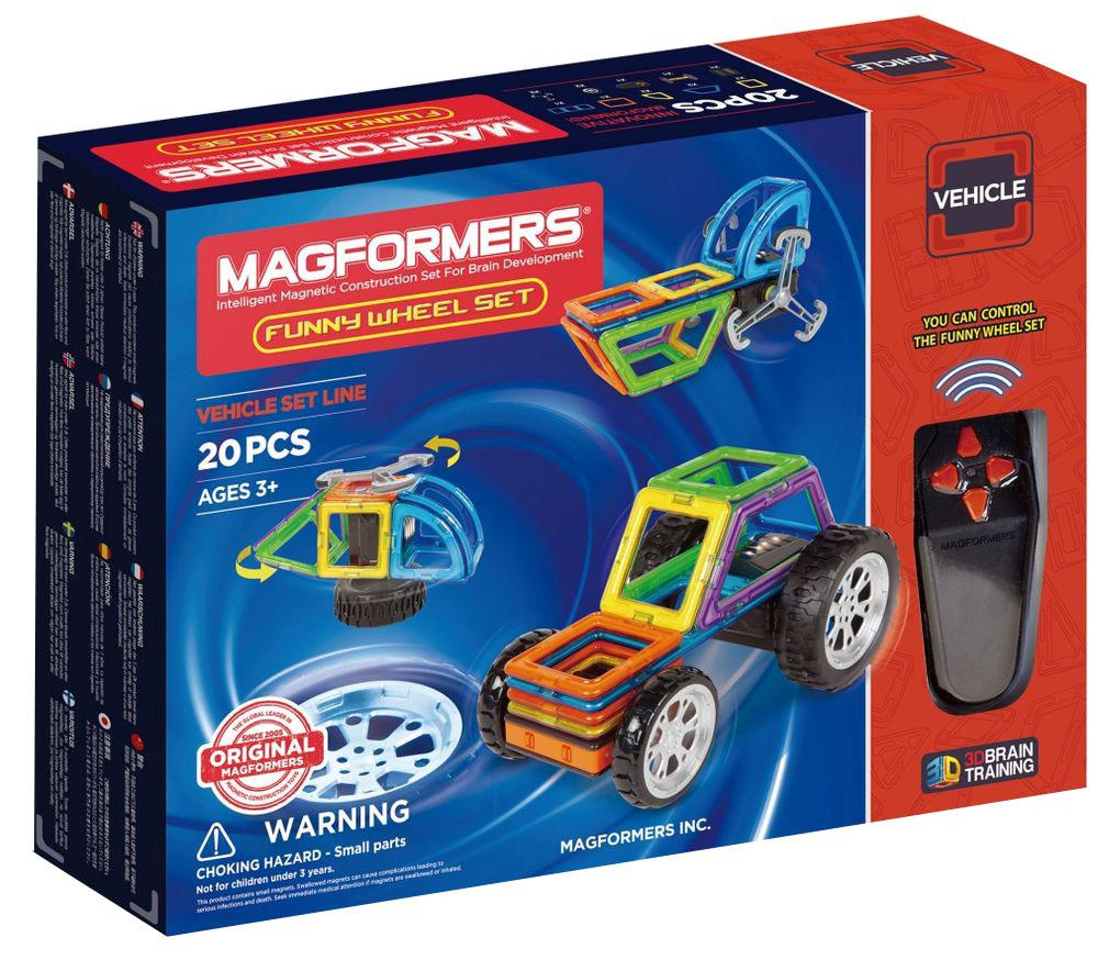 Magformers Магнитный конструктор Funny Wheel Set библия пересказанная детям старшего возраста