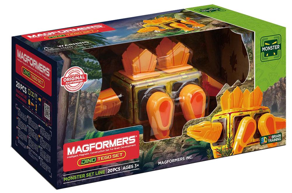 Magformers Магнитный конструктор Dino Tego Set