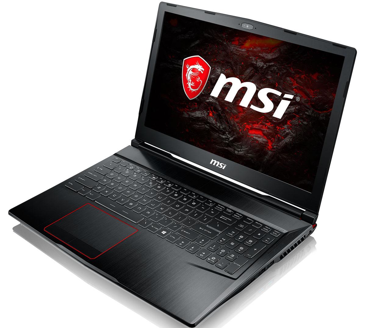 MSI GE63VR 7RF-057RU, BlackGE63VR 7RF-057RUMSI GE63VR 7RF - первый в мире ноутбук с независимой RGB-подсветкой клавиш и игровой клавиатурой Steelseries.Благодаря независимой подсветке клавиш вы сможете контролировать игровую статистику (уровень боекомплекта, здоровья, прочность инструмента и т.д.) прямо на клавиатуре и реагировать на действия соперников быстрее. Каждый нюанс этой клавиатуры продуман под профессионального геймера.Эргономичный дизайн, ход клавиш 1.9 мм, ясный отклик, оптимальная зона WASD, anti-ghosting для 45 клавиш и механическая защита делают клавиатуры ноутбуков MSI Gaming самыми удобными и надёжными в индустрии.Новейшая технология MSI Cooler Boost 5 отличается 2-мя модулями охлаждения, 2-мя вентиляторами Whirlwind Blade, 7-ю тепловыми трубками и 4-мя направлениями выхлопа. Интенсивность и эффективность отвода тепла оптимально согласованы с мощью установленных компонентов. Это позволило достичь повышенной производительности и сниженной температуры видеокарты уровня GTX 1070.Новые гигантские динамики в составе первоклассной акустической системы Dynaudio позволят ощутить рёв моторов, взрывы и падения зданий в игре как никогда явственно. 2 динамика + 2 вуфера в независимых резонансных камерах создают невероятно реалистичное звучание аудиоэффектов.Стильный шлифованный алюминиевый корпус прекрасно подчёркивает эстетику и мощь этой игровой машины.По ожиданиям экспертов производительность новой GeForce GTX 1070 должна более чем на 40% превысить показатели графических карт GeForce GTX 900M Series. Благодаря инновационной системе охлаждения Cooler Boost и специальным геймерским технологиям, применённым в игровых ноутбуках MSI Gaming, графическая карта новейшего поколения NVIDIA GeForce GTX 1070 сможет продемонстрировать всю свою мощь без остатка.Являясь единственными игровыми ноутбуками с дисплеем 120Гц/3мс, серия GE станет твоим надёжным компаньоном, который не даст упустить ни одной детали во время динамичного геймплея. Частота обновления экрана 12 Гц и 