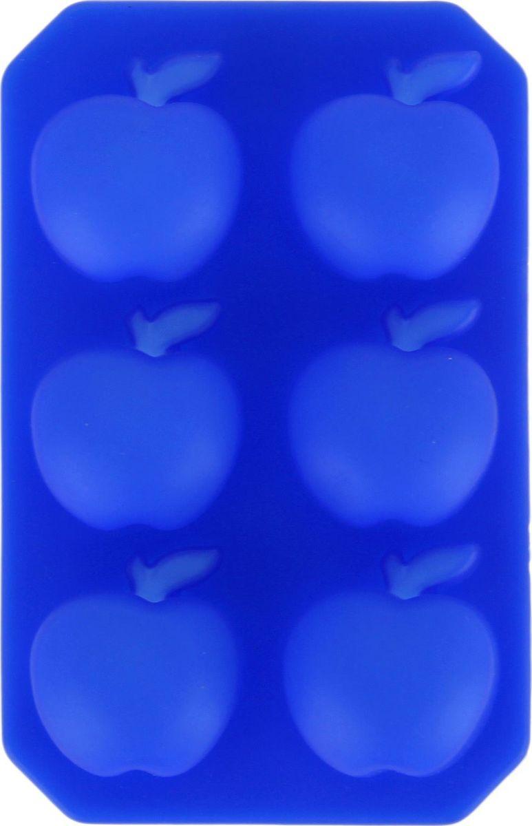 Форма для льда и шоколада Доляна Яблоко, 6 ячеек, 14 х 9 см114013Фигурная форма для льда и шоколада Доляна Яблоко выполнена из пищевого силикона, который не впитывает запахов, отличается прочностью и долговечностью. Материал полностью безопасен для продуктов питания. Кроме того, силикон выдерживает температуру от -40°С до +250°С, что позволяет использовать форму в духовом шкафу и морозильной камере. Благодаря гибкости материала готовый продукт легко вынимается и не крошится.С помощью такой формы можно приготовить оригинальные конфеты и фигурный лед. Приготовить миниатюрные украшения гораздо проще, чем кажется. Наполните силиконовую емкость расплавленным шоколадом, мастикой или водой и поместите в морозильную камеру. Вскоре у вас будут оригинальные фигурки, которые сделают запоминающимся любой праздничный стол! В формах можно заморозить сок или приготовить мини-порции мороженого, желе, шоколада или другого десерта. Особенно эффектно выглядят льдинки с замороженными внутри ягодами или дольками фруктов. Заморозив настой из трав, можно использовать его в косметологических целях.Форма легко отмывается, в том числе в посудомоечной машине.