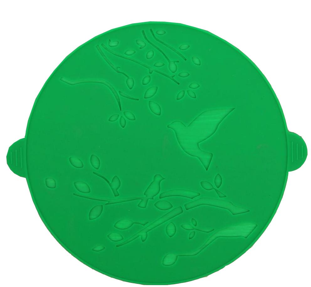 Коврик-подставка под горячее Доляна Птичья трель, 23 х 20 см1166876Силиконовая подставка под горячее — практичный предмет, который обязательно пригодится в хозяйстве. Изделие поможет сберечь столы, тумбы, скатерти и клеёнки от повреждения нагретыми сковородами, кастрюлями, чайниками и тарелками.
