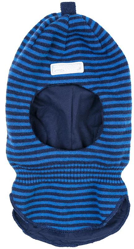 Балаклава для мальчика PlayToday, цвет: темно-синий. 371175. Размер 52371175Балаклава PlayToday - отличное решение для зимнего гардероба. Модель на подкладке. Шапка плотно прилегает к голове и комфортна при носке. Эргономичная конструкция этой модели хорошо закрывает горло и грудь ребенка. Дополнена светоотражающими элементами. Ребенок будет виден в темное время суток.