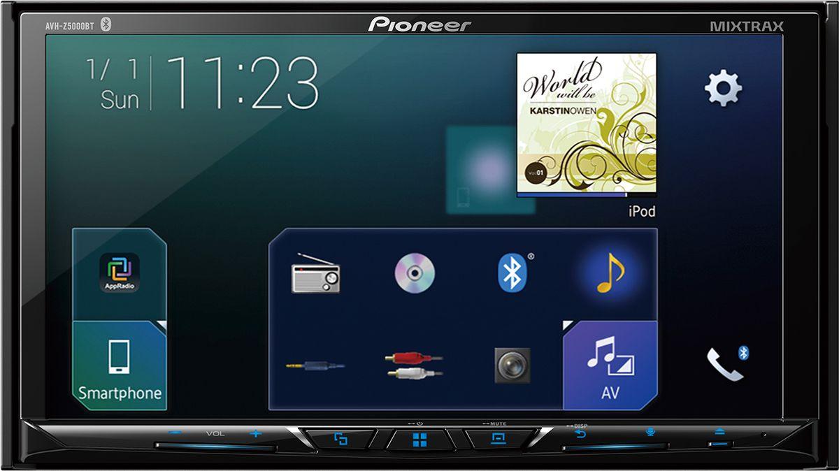 Pioneer AVH-Z5000BT мультимедийная система pioneer avh 190g автомагнитола