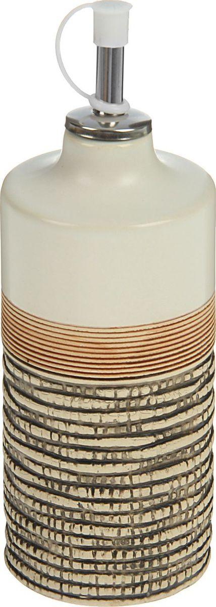 Бутыль для соуса и масла Доляна Какао, 6,4 х 6,4 х 18,7 см1580179Сервировочная посуда поможет элегантно оформить стол для повседневных трапез и праздничных событий. Яркие цвета и необычный узор позволят вам создать особенную атмосферу и подарят гостям исключительно приятные впечатления от приёма пищи. Достоинства: поверхность не впитывает запахов; цвета сохраняют насыщенность; предмет легко моется. Чтобы посуда радовала внешним видом и функциональностью как можно дольше, соблюдайте простые правила ухода: мойте вручную; избегайте применения металлических губок и высокоабразивных средств не допускайте падений. Изделие пригодно для домашнего и профессионального использования