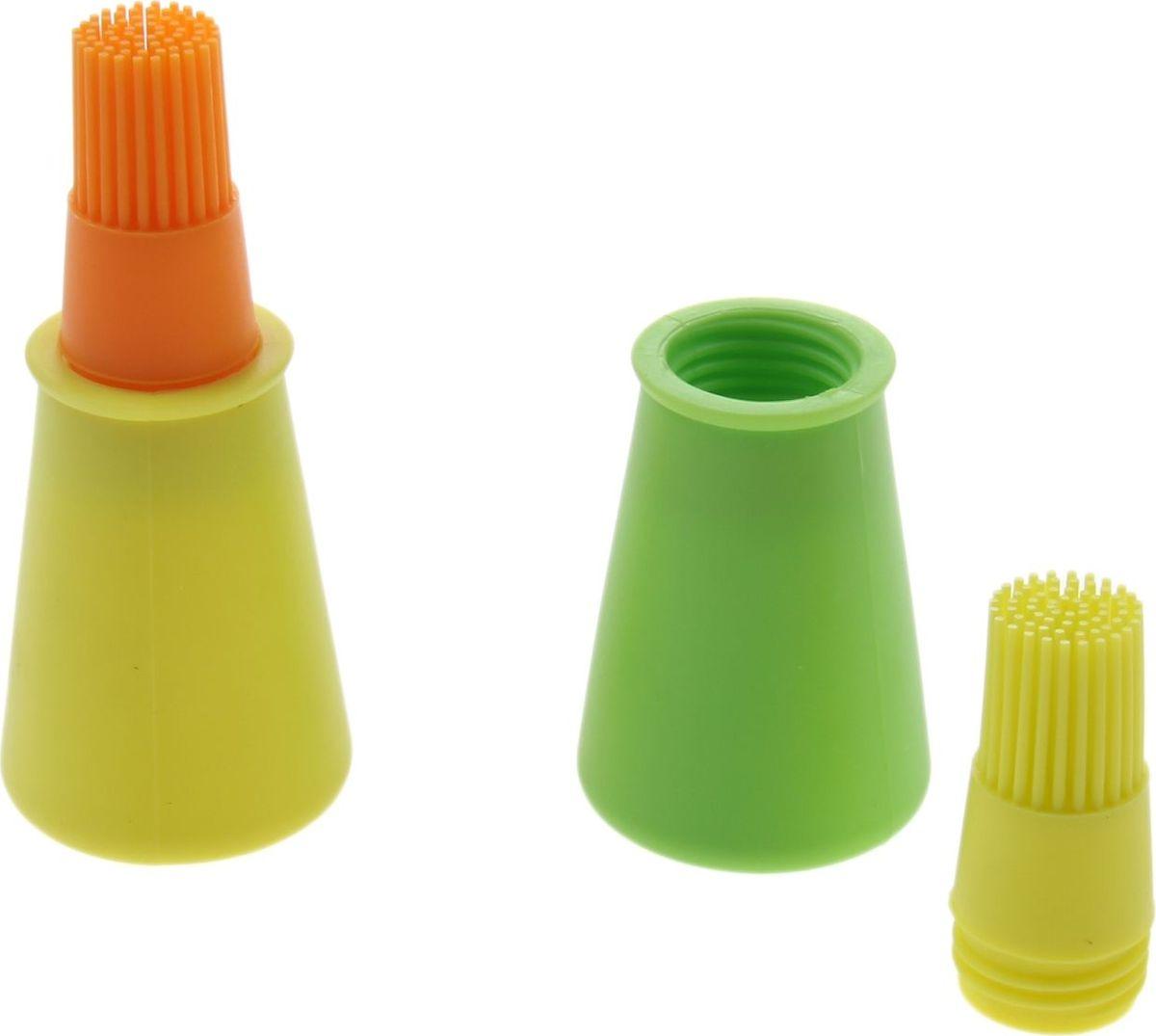 Кисть Доляна Олио, для масла, 11 х 5 см708001Специальная кисть помогает быстро смазать выпечку глазурью, яйцом или кремом, нанести масло на сковороду или противень. Уважаемые клиенты! Обращаем ваше внимание на цветовой ассортимент товара. Поставка осуществляется в зависимости от наличия на складе.